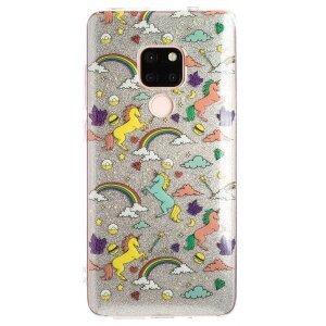Husa Fashion Huawei Mate 20 ,Glitter Unicorn