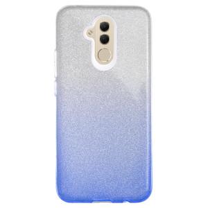 Husa Fashion Huawei Mate 20 Lite, Glitter Albastra