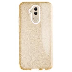 Husa Fashion Huawei Mate 20 Lite, Glitter Aurie