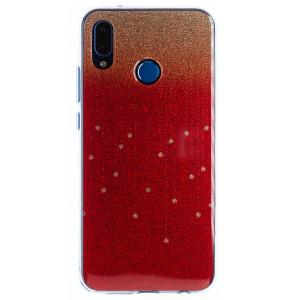 Husa Fashion Huawei P20 Lite, Glitter Aurie