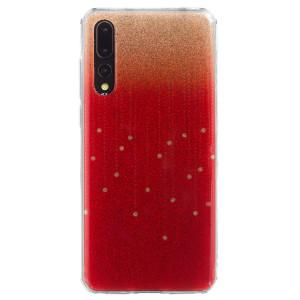 Husa Fashion Huawei P20 Pro , Glitter Rosie