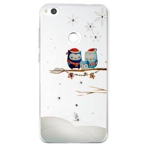 Husa Fashion Huawei P8/P9 Lite 2017, Contakt Iarna