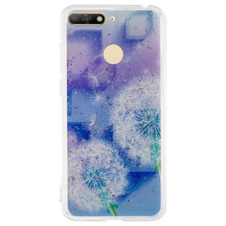 Husa Fashion Huawei Y6, Contakt Floral