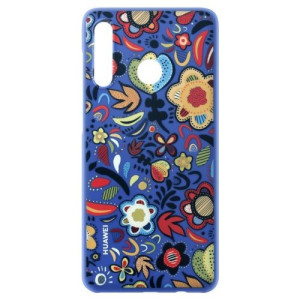 Husa fashion Huawwei P30 Lite Blue Floral PC Case