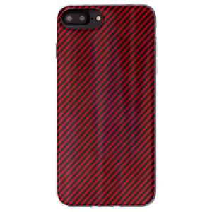Husa Fashion iPhone 7/8 Plus, Zig-Zag Rosu