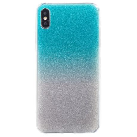 Husa Fashion iPhone XS Max, Glitter Argintie