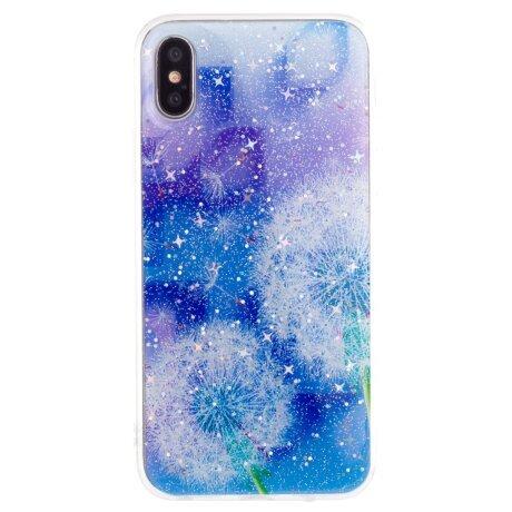 Husa Fashion iPhone X/XS, Contakt Floral