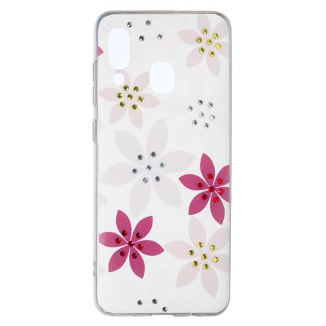 Husa Fashion Samsung Galaxy  A40, Flower