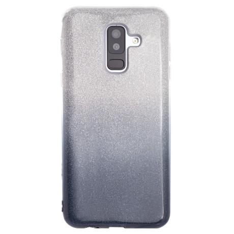 Husa Fashion Samsung Galaxy A6 Plus 2018, Contakt Glitter Fumurie