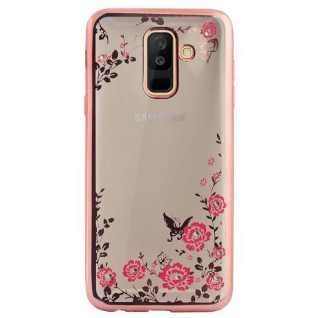 Husa Fashion Samsung Galaxy A6 Plus 2018 Roz Contakt