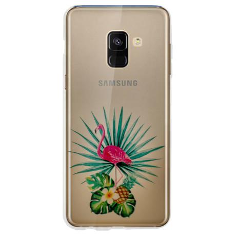 Husa Fashion Samsung Galaxy A8 2018 Flamingo