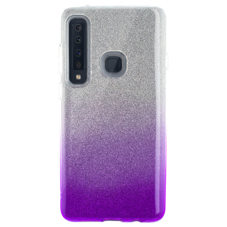 Husa Fashion Samsung Galaxy A9 2018, Contakt Glitter Violet