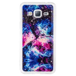 Husa Fashion Samsung Galaxy J3 2016, Contakt Abstract