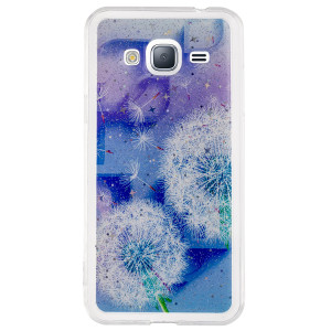 Husa Fashion Samsung Galaxy J3 2016, Contakt Floral