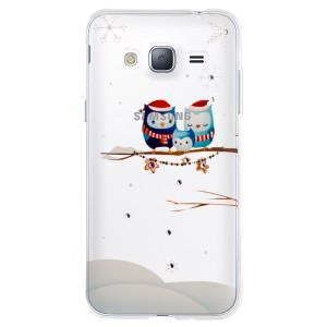 Husa Fashion Samsung Galaxy J3 2016, Contakt Iarna