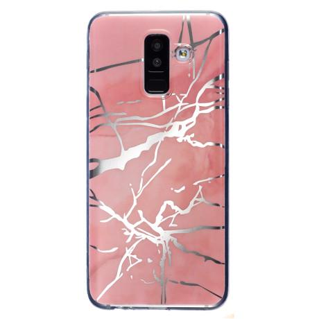 Husa Fashion Samsung Galaxy J3 2017, Marble Roz