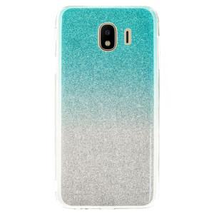 Husa Fashion Samsung Galaxy J4 2018, Glitter Argintie