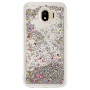 Husa fashion Samsung Galaxy J4 2018 Liquid, Argintie