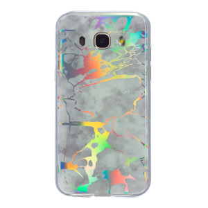 Husa Fashion Samsung Galaxy J5 2016, Marble Alb