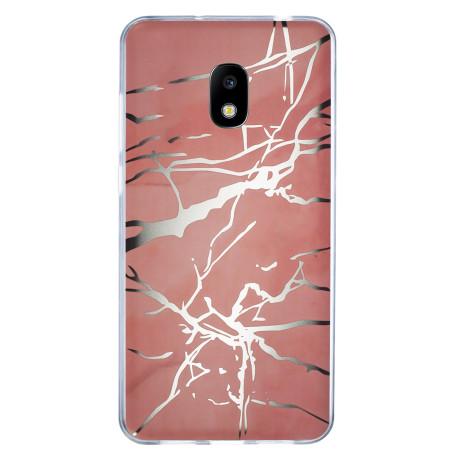 Husa Fashion Samsung Galaxy J5 2017, Marble Roz