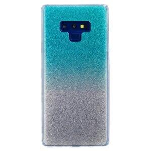 Husa Fashion Samsung Galaxy Note 9, Glitter Argintie