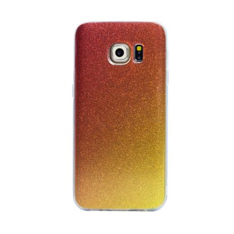 Husa fashion Samsung Galaxy S7, Contakt Glitter Auriu