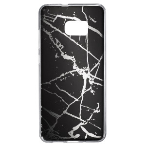 Husa Fashion Samsung Galaxy S7 Edge, Marble Negru