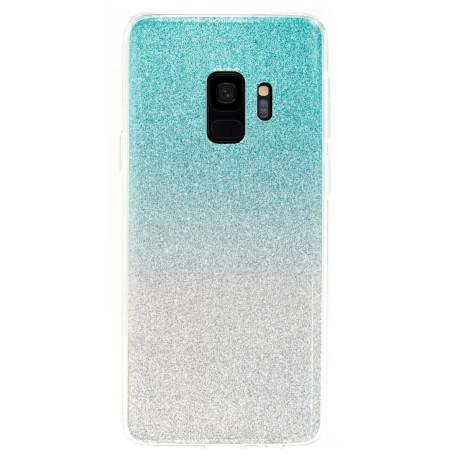 Husa Fashion Samsung Galaxy S9, Glitter Argintie