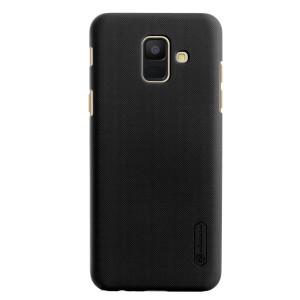 Husa + Folie Samsung Galaxy A6 2018 Nillkin Negru