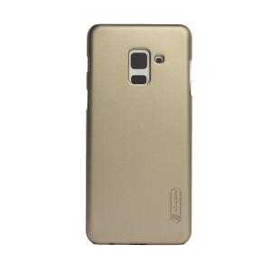 Husa + Folie Samsung Galaxy A8 2018 Auriu Nillkin