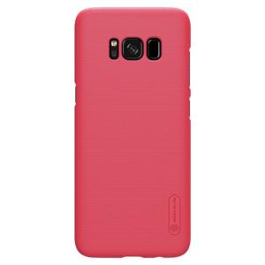 Husa + Folie Samsung Galaxy S8 Plus Rosu Nillkin