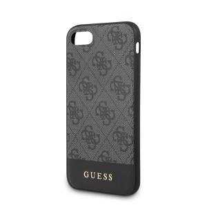 Husa Guess 4G Stripe pentru iPhone 7/8/SE 2, Gri