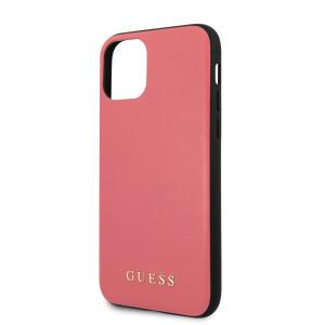 Husa Guess PU Leather pentru iPhone 11 Pro Max, Roz