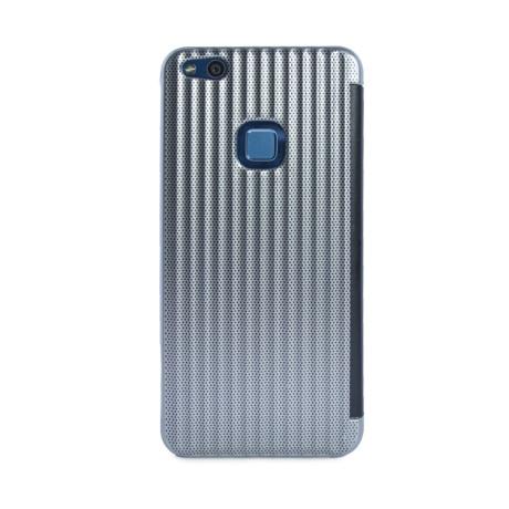 Husa hard book Huawei P10 Lite Argintiu