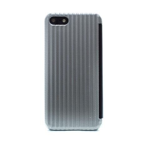 Husa hard book iPhone 7/8/SE 2 Argintiu