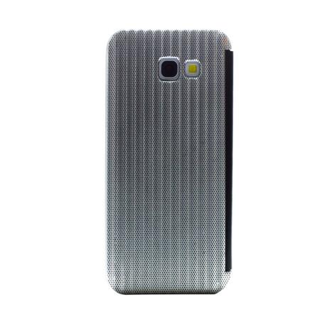 Husa hard book Samsung Galaxy A5 2017 Argintiu