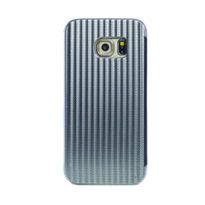 Husa hard book Samsung Galaxy S7 Argintiu