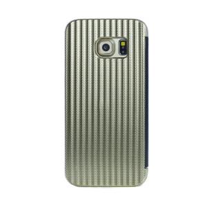 Husa hard book Samsung Galaxy S7 Auriu