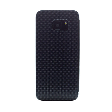 Husa hard book Samsung Galaxy S7 Edge Negru