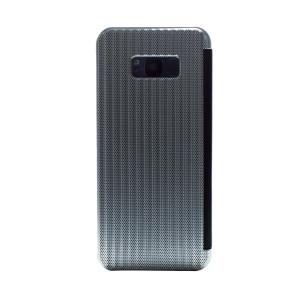 Husa hard book Samsung Galaxy S8 Plus Argintiu