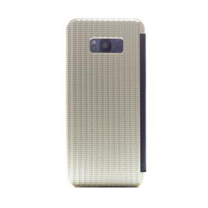 Husa hard book Samsung Galaxy S8 Plus Auriu