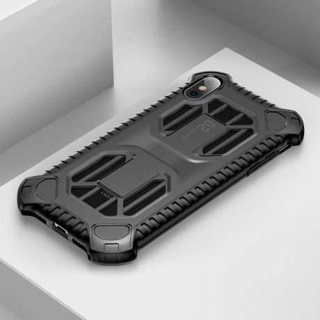 Husa Hard Cold Front Cooling iPhone XS MAX, Negru Baseus