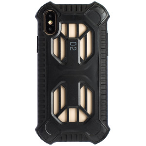 Husa Hard Cold Front Cooling iPhone X/XS, Negru Baseus