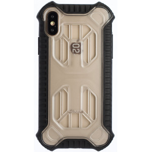 Husa Hard Cold Front Cooling iPhone X/XS, Transparent Baseus