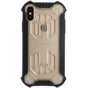 Husa Hard Cold Front Cooling iPhone X/XS, Transparent Baseus