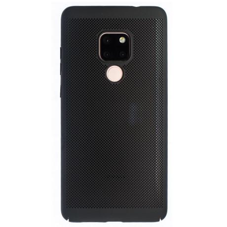Husa hard Huawei Mate 20 Negru- Model perforat