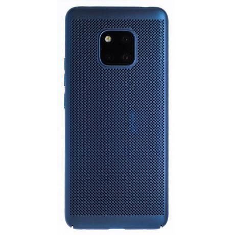 Husa hard Huawei Mate 20 Pro Albastru- Model perforat