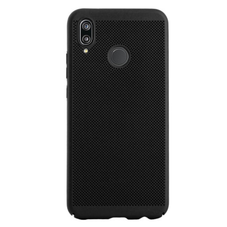 Husa hard Huawei P20 Lite Neagra - Model perforat
