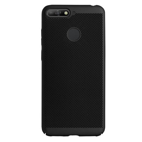Husa hard Huawei Y6 2018 Negru- Model perforat