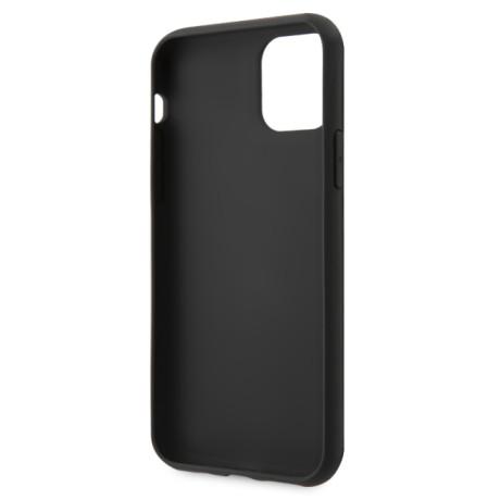 GUHCN61IGLBK Guess Iridescent Zadni Kryt pro iPhone 11 Black